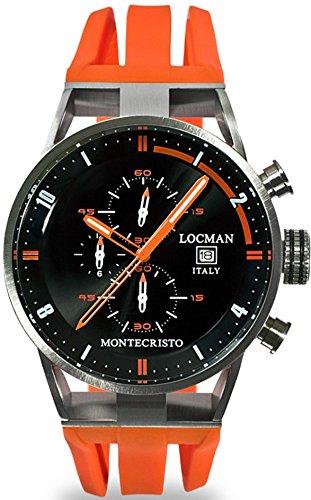 Locman Uhren Herrenchronograph Montechristo 051000BKFOR0GOO