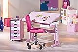 Links 99800350 Kinderschreibtisch Schülerschreibtisch Schreibtisch Kinderzimmer Tisch, rosa - 9