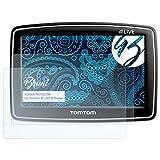 Bruni Schutzfolie für Tomtom XL Live IQ Routes Folie - 2 x glasklare Displayschutzfolie