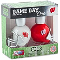 WISCONSIN BADGERS GAME DAY DUO NAIL POLISH SET-UNIVERSITY OF WISCONSIN NAIL POLISH-INCLUDES 2 BOTTLES AS SHOWN... preisvergleich bei billige-tabletten.eu