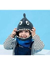 DDHZTA Cappello Sciarpa Un Bambino paraorecchie Cartoon Baby Maglia  Ispessimento Caldo Cappello b4a399a9501a