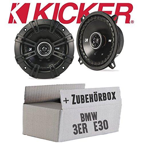 m Koax Lautsprecher - Einbauset für BMW 3er E30 - JUST SOUND best choice for caraudio ()