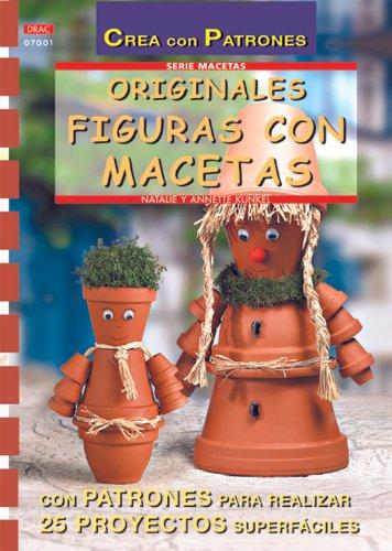 Serie Macetas nº 1. ORIGINALES FIGURAS CON MACETAS (Cp - Serie Macetas (drac))