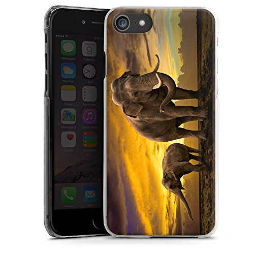 Apple iPhone X Silikon Hülle Case Schutzhülle Elefant Elefanten Rüsseltier Hard Case transparent