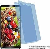 4ProTec 2X Crystal Clear klar Schutzfolie für Oukitel K6 Bildschirmschutzfolie Displayschutzfolie Schutzhülle Bildschirmschutz Bildschirmfolie Folie