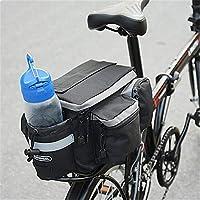 Mlec tech Bolsa de Bicicleta Impermeable Alforja de Bicicleta Sillín Alforjas Tija Sillín de Ciclismo Mutifunción Bolsas para Asiento Paquete