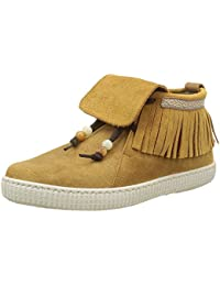 Victoria Botin Flecos Serraje, Desert Boots Femme