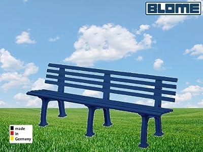 Gartenbank Juist blau Blome 4-Sitzer