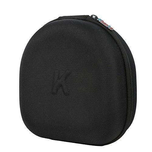 Khanka Hard Case Travel Aufbewahrungstasche für VersionTech kotion jeder G2000USB 3,5mm Gaming Headset Kopfhörer Stirnband-schwarz