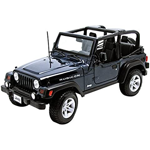 Jeep Wrangler Rubicon DieCast Metal 1/18 Scale Special Edition by Maisto - Blue by Maisto