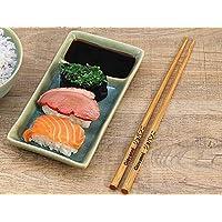 Bacchette Sushi Personalizzate, Custom Chopstick, Custodia in Pelle per bacchette Giapponesi, bacchette cinesi legno…