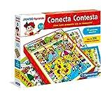 Clementoni - Conecta Contesta, Juego Educativo (653805)
