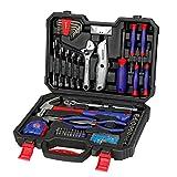 WORKPRO Werkzeugkoffer Home Reparatur Werkzeug Set Tägliche Handwerkzeuge 160-teilig