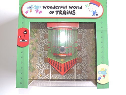 Wonderful World of Trains - Interactive Children's Book