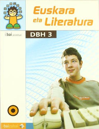 Euskara eta Literatura -DBH 3-: I.Bai proiektua