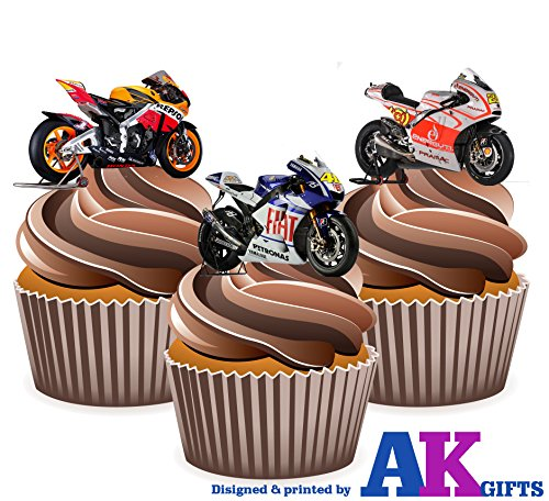 moto-gp-ducati-moto-honda-yamaha-mix-12-comestibles-cup-cake-toppers-decorations