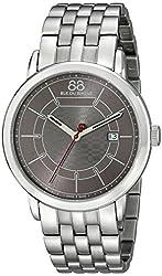 88 Rue du Rhone Mens 87WA140025 Analog Display Swiss Quartz Silver Watch