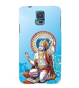 FUSON Hindu Lod Hanuman Ramjap 3D Hard Polycarbonate Designer Back Case Cover for Samsung Galaxy S5 Mini :: Samsung Galaxy S5 Mini Duos :: Samsung Galaxy S5 Mini Duos G80 0H/Ds :: Samsung Galaxy S5 Mini G800F G800A G800Hq G800H G800M G800R4 G800Y