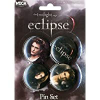 Edward and Bella Badge Set - Twilight Eclipse - Neca
