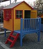 Baumotte Spielhaus Holz - Kinderspielhaus