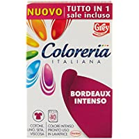 Coloreria Italiana Colore Bordeaux Intenso Pronto Uso in Lavatrice - 350 g