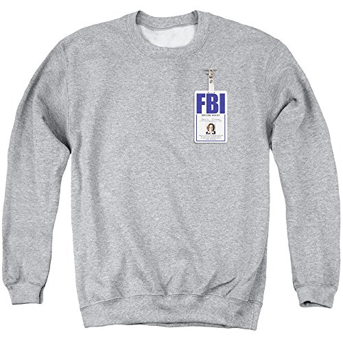 x-files-sweat-shirt-homme-gris-small
