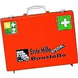 Söhngen 0360101 Erste-Hilfe-Koffer SPEZIAL, Baustelle, B 40 x H 30 x T 15 cm, orange