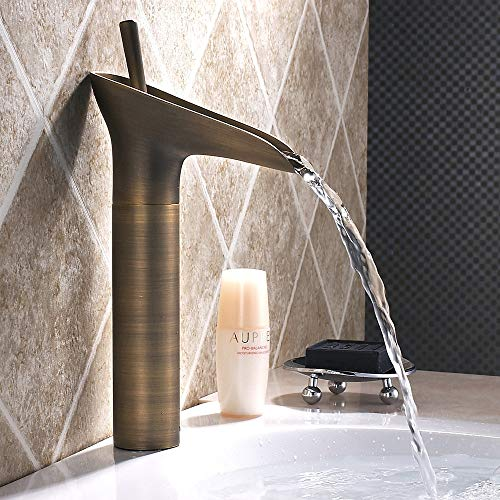 Haus voller Romantik Kreative Weinglas Antiken Wasserhahn Alle Kupfer Europäischen Toilette...