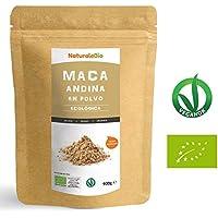 Maca Andina Ecológica en Polvo [ Gelatinizada ] 900g | Organic Maca Powder Gelatinized | 100