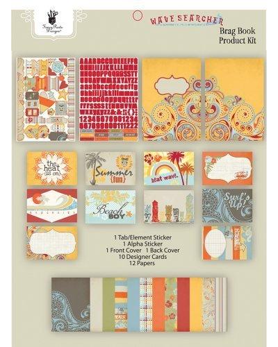 Fancy Pants Designs Wave Sucher Brag Book Kit - Fancy Pants Designs