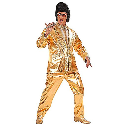 Widmann 90112 Elvis-Kostüm für Herren, Größe M,  Faschingskostüm King of Rock and (Monkey Kostüm King)
