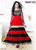 Rozdeal Women Georgette Salwar Suit Dres...
