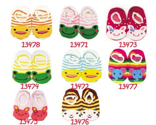 BONAMART ® Neu Boys Girls Unisex Größentabelle Baby Anti-slip SockenStricken Bis 1 Jahr Baby-2-Paare