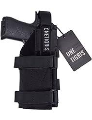 OneTigris la funda de pistola Holster Glock–táctico con Molle de 1000d nailon para Airsoft, negro