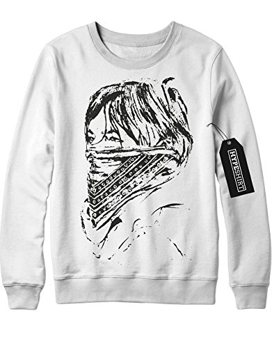 Sweatshirt The Walking Dead Carol C978251 Weiß M