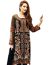 322fd4fa55 Amazon.in: Georgette - Dress Material / Ethnic Wear: Clothing & Accessories