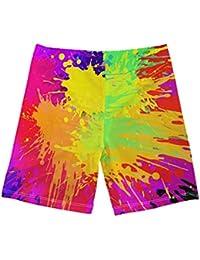 Coloranimal divertido impresión 3D niño natación bañador playa baño pantalones cortos Swinwear secado rápido 5-14Y