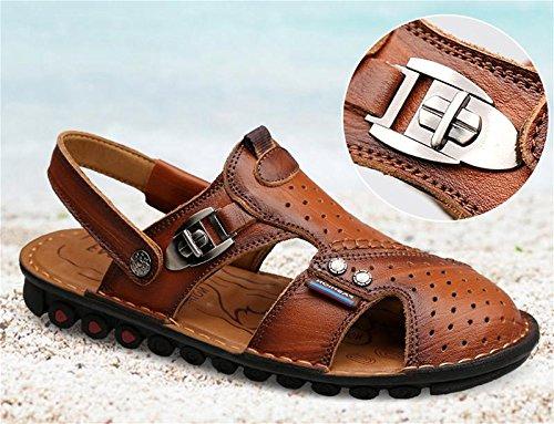 W&XY Pantofole sandali da surf da spiaggia per uomo, antiscivolo e antiscivolo 40