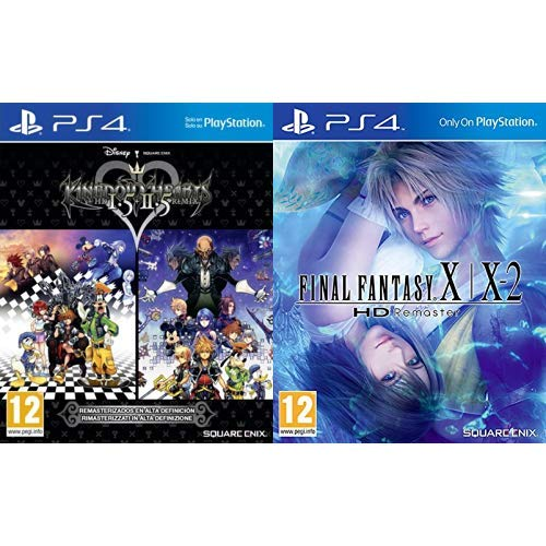 Kingdom Hearts HD 1.5 + 2.5 Remix & Final Fantasy X/X-2: HD Remaster
