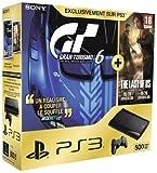 Console PS3 Ultra slim 500 Go noire + Gran Turismo 6 - édition spéciale + The Last of Us