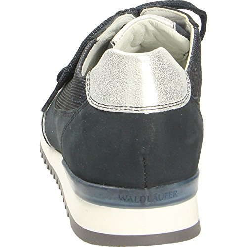 Waldläufer 370004-315-194, Baskets Pour Femme Bleu