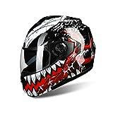 Moto Moto Casque Anti-buée Double Lentille Casquette De Sécurité Du Visage À Rabattre Casques Adulte Casque De Motocross Avec Bluetooth