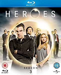 Heroes Season 3 [Blu-ray] [Region Free]