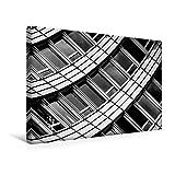 Premium Textil-Leinwand 45 cm x 30 cm quer, Zürich, WTC   Wandbild, Bild auf Keilrahmen, Fertigbild...
