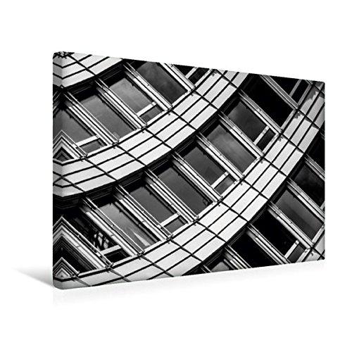 Premium Textil-Leinwand 45 cm x 30 cm quer, Zürich, WTC | Wandbild, Bild auf Keilrahmen, Fertigbild...
