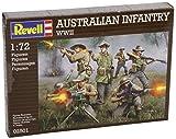 Revell 02501 - Modellbausatz - Australian Infantry WWII, Maßstab 1:72