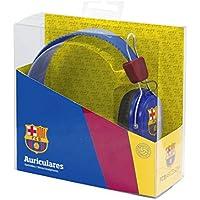 Seva Import 715965 F.c.Barcelona Auricular Casco, Unisex Adulto, Azul Marino/Rojo / Negro, Talla Única