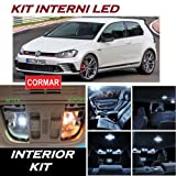 KIT LED INTERNI GOLF 7 VII FULL WHITE 6000K COMPLETO