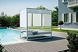 CANOPY BED para fornecer GARDENS Espaços Comerciais e espaços exteriores