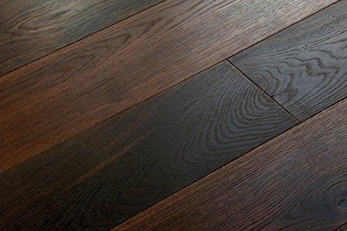 woodstore Handel Società woodog ingst-papq1801453Parquet europea Rovere 14X 180X 2200mm, Smoked, oxidativ oliato, Spazzolato (2,376m²/pacchetto), Scuro, One size